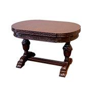 ドローリーフテーブル ミドルカーブドタイプ 2本脚