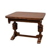 ドローリーフテーブル カーブドタイプ 2本脚