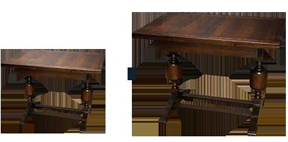 アンティーク家具修理 ドローリーフテーブル天板再塗装