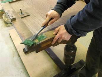 ドローリーフテーブルの修理工程その1