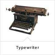 ケントストア・アンティーク家具のタイプライター