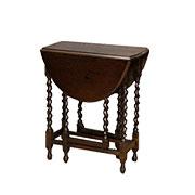 ケントストア・アンティーク家具のゲートレッグテーブル