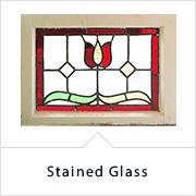 アンティーク家具インテリアパーツ ステンドグラス
