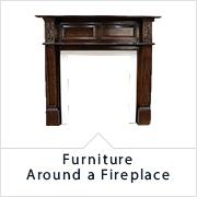 アンティーク家具ディスプレイアイテム 暖炉周りの家具・雑貨