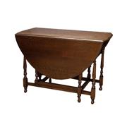 標準的なゲートレッグテーブル