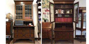 ケントストア・アンティーク家具のビューローブックケース