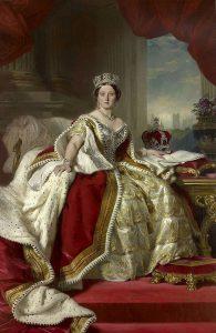 ロイヤルドルトンとヴィクトリア女王