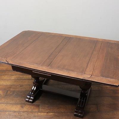 こだわりのドローリーフテーブルの修理