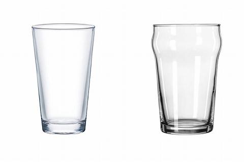 パイントグラスの形状