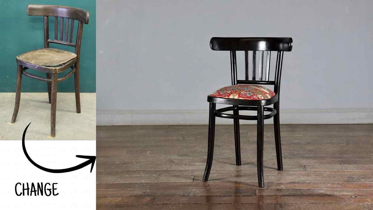 アンティーク家具のケントストア製作ウィリアムモリスのアンティークベントウッドチェア