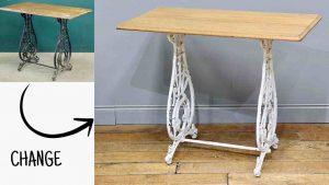 シャビーシック仕上げのアンティーク家具