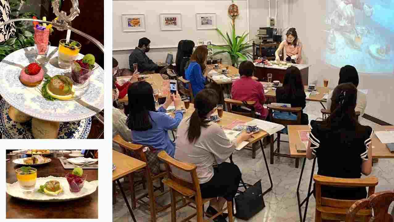 アンティーク家具ケントストアよりコンテンポラリーアフタヌーンティー舟本孝子先生のフィンガーフードセミナー